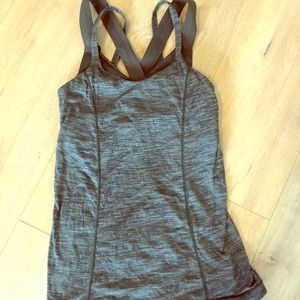 Lululemon tank with support